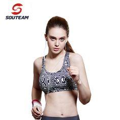 d95675e236360 Aliexpress.com   Buy SOUTEAM Brand Brand Brazilian Sports Bra Fitness Crop  Tops High Quality Bras Sexy Health Yoga Bra For Running  S150032 MQCW from  ...