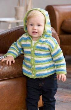 Ideas For Crochet Baby Hoodie Pattern Boys Sweaters Crochet Baby Sweaters, Crochet Baby Cardigan, Bag Crochet, Crochet Baby Clothes, Crochet Hoodie, Knitting Sweaters, Crochet Braids, Crochet Lace, Baby Knitting Patterns