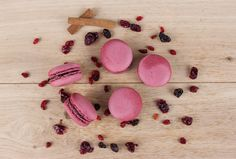Forrest fruits macaroons