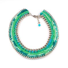 This is a fully hand made unique product.  This necklace belongs to my Summer 2012 collection.