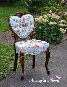 A Heart Back Chair