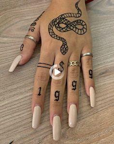 Dainty Tattoos, Pretty Tattoos, Cute Tattoos, Small Tattoos, Tatoos, Unique Hand Tattoos, Hand And Finger Tattoos, Finger Tats, Little Tattoos