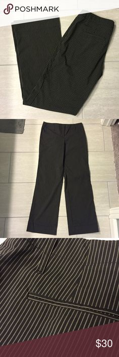 Theory pants Lightweight black and white stripe pants. Size 10. Like most Theory run small, so these actually fit like an 8. EUC. Theory Pants