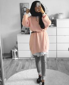 mentions J'aime, 51 commentaires - Ebru ( - Hijab Casual, Hijab Chic, Modern Hijab Fashion, Muslim Fashion, Korean Fashion, Hijab Dress, Hijab Outfit, Estilo Abaya, Mode Outfits