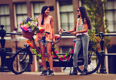 Take a nice bike ride for her bachelorette party.