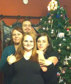 Me and three of my babies