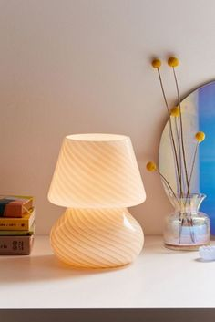 Shop Ansel Table Lamp at Urban Outfitters today. We carry all the latest styles, colors and brands for you to choose from right here. My New Room, My Room, Lampe Miffy, Boho Home, Ceramic Pendant, Aesthetic Rooms, Glass Table, Decoration, Room Inspiration