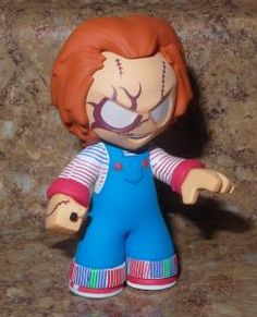 Funko Mystery Minis Horror Classics Bloody Chucky Variant Chaser 1/144 by scar1321