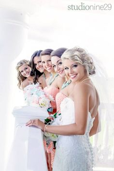beautiful bridal party photo ideas for your special day