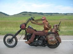 The awesome Betsy Huelskamp… Bear Butte, Sturgis, South Dakota.    This was a great day!