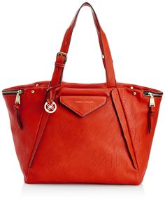 Fiorelli Womens Paloma Tote FH8280 Red: Amazon.co.uk: Shoes & Bags