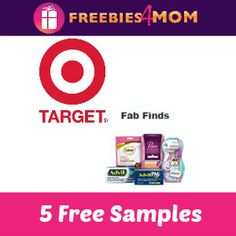 HURRY 5 #FREE SAMPLES from Target  http://freebies4mom.com/fabfree Advil, Advil PM, BIC Soleil, Caltrate, Poise