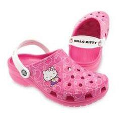 Hello kitty crocs! Oh I want! !