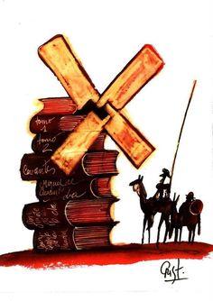 """""""Ricorda, caro mio Sancho, chi vale di più, deve fare di più..."""" (Miguel de Cervantes)"""
