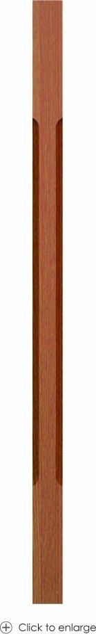 5360 Chamfered-edge Contemporary Baluster - 5360 Series Contemporary Balusters
