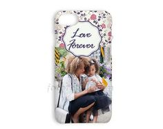 Cover iPhone 7 Stampa 3D Texture flowers