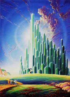Emerald city -  Oz the great and powerful!