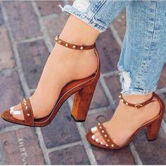 high heels – High Heels Daily Heels, stilettos and women's Shoes Stilettos, Pumps Heels, Stiletto Heels, High Heels, Heeled Sandals, Sandals Outfit, Heels Outfits, Dress Shoes, Brown Sandals