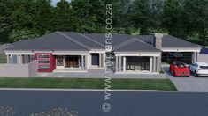 My Building Plans South Africa – Building Industry Marketplace Round House Plans, Tuscan House Plans, Dream House Plans, My Building, Building Plans, Design Your Dream House, House Design, House Plans South Africa, 5 Bedroom House Plans