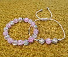 """0 kedvelés, 1 hozzászólás – Twisted Cords (@twistedcords) Instagram-hozzászólása: """"👩👧Anya - lánya páros karkötő👩👧 Pink és áttetsző roppantott hegyikristályból. . 🎁 Most minden rendeléshez meglepetés karkötőt adunk ajándékba! Minden, Paros, Bracelets, Pink, Instagram, Jewelry, Fashion, Moda, Jewlery"""