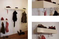 kleine garderobe selber bauen - Google-Suche