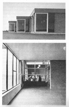 Aldo van Eyck, scholen, Nagele 1954-1957