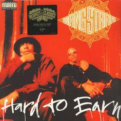 Gang Starr Hard To Earn Vinyl Double LP
