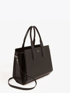 HALSTON HERITAGE STRUCTURED SATCHEL