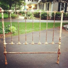 Antique Wrought Iron bed frames!
