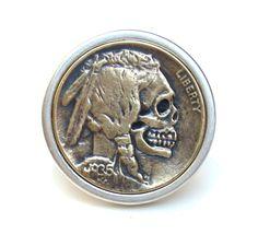 Metta Metalworks — Hobo Nickel Ring