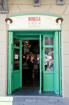 Bodega 1900, vermuteria de Albert Adrià en Barcelona.