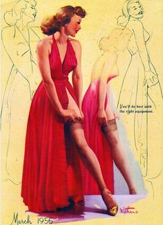 Illustration by Ted Withers, 1956