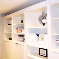 Billy Bookcase Design Ideas, Pictures, Remodel, and Decor
