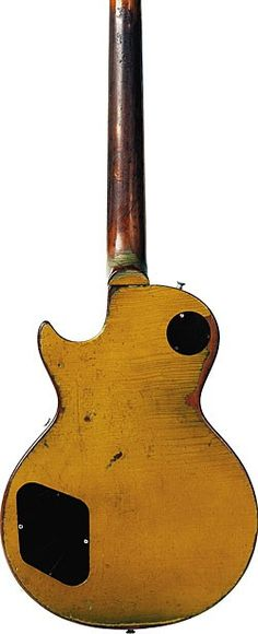 Back of the '56 Gibson Les Paul Goldtop.