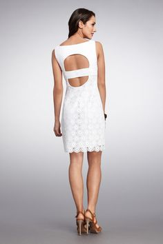 Love this lace scalloped dress