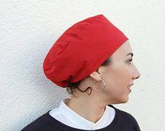 Sombrero quirúrgico gorro de quimio gorro de cocinero gorro | Etsy Scrub Caps, Scrubs, Winter Hats, Skull, Etsy, Shop, Anime, Surgical Caps, Caps Hats