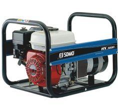 Groupe électrogène SDMO HX 3000 essence 230V 3KW Camping Generator, Groupes, Generators