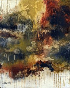Original Abstract Art Painting - I Think I Know What I Need To Do