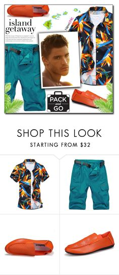 """""""Newchic (18/VII)"""" by dorinela-hamamci ❤ liked on Polyvore featuring men's fashion, menswear, mensstyle, holidaystyle and islandgetaway"""