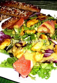 Šaláty | Fitness-recepty.sk Tuna, Smoothies, Fish, Fitness, Diet, Salads, Smoothie, Pisces, Smoothie Packs