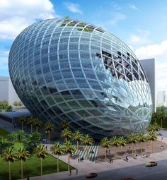 Set to be India's most expensive office building, the 13-story, solar-paneled Egg of Mumbai (under construction now) will have elevated gardens and wind turbines to generate the building's electricity.