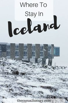 Where to Stay in Iceland // Ion Adventure Hotel // Traveling to Iceland // Reykjavik // The Golden Circle // Hotels in Iceland