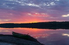 October Photo by Doug Robertson. The Places Youll Go, Places Ive Been, Canoe Trip, Get Outside, Natural Wonders, Sunsets, Ontario, Minnesota, Wanderlust