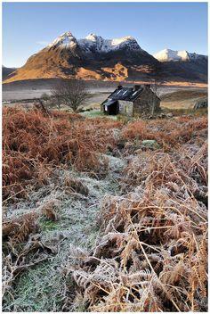 Shenavall and Beinn Dearg Mor, Torridon Hills, Highlands, Scotland