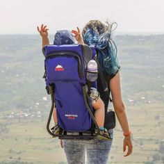 Hitchhiking with Child... Photo by Shorena Laghadze