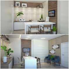 18 trendy Ideas for medical clinic interior design ceilings Interior Ceiling Design, Clinic Interior Design, Clinic Design, Healthcare Design, Medical Design, Doctors Office Decor, Medical Office Decor, Doctor Office, Office Cabin Design