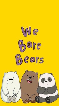 List of Nice Anime Wallpaper IPhone Kawaii We bare bears phone wallpaper