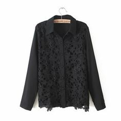 Buy 'JVL – Lace-Front Chiffon Blouse' with Free International Shipping at YesStyle.com. Browse and shop for thousands of Asian fashion items from China and more!