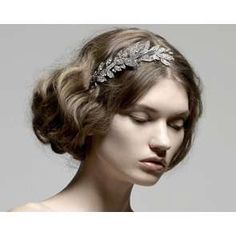 Greek hairstyle with accessories