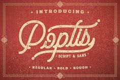 Poptis by Albion Room on @creativemarket